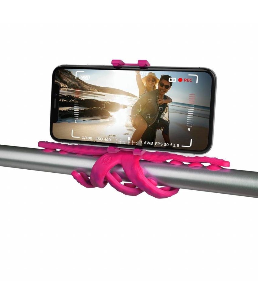 Paars Squiddy Flexible Holder