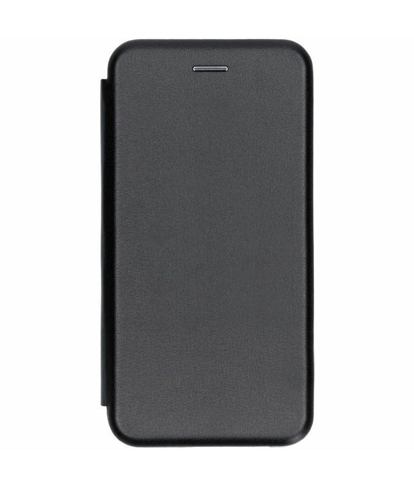 Zwart slim foliocase Samsung Galaxy J4 Plus