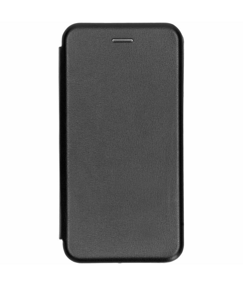 Zwart slim foliocase Samsung Galaxy J6 Plus