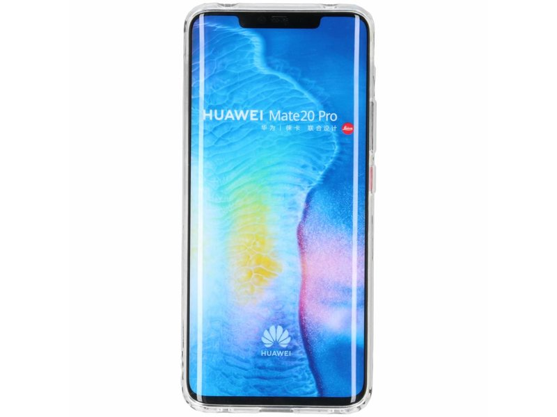 Huawei Mate 20 Pro hoesje - Softcase Backcover voor Huawei