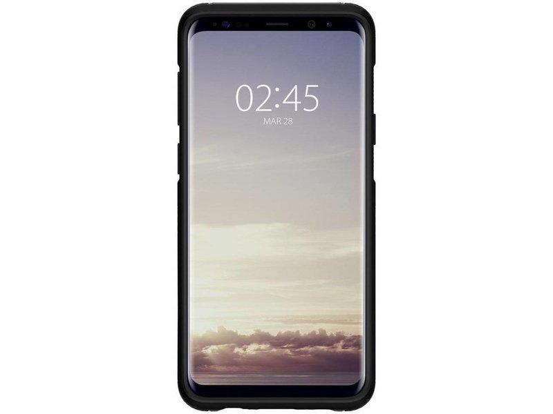 size 40 8a95b f9426 Spigen Hybrid Armor Backcover voor Samsung Galaxy S9 Plus - Grijs