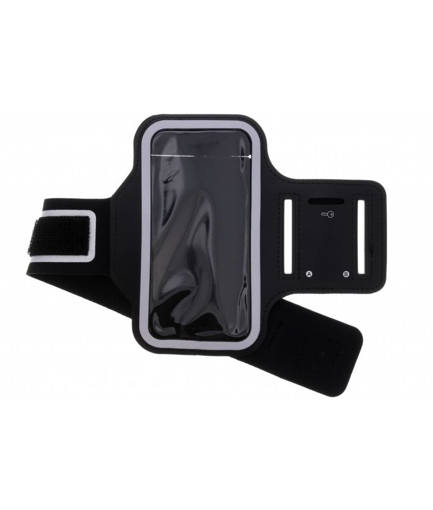 Zwart sportarmband Samsung Galaxy J4 Plus