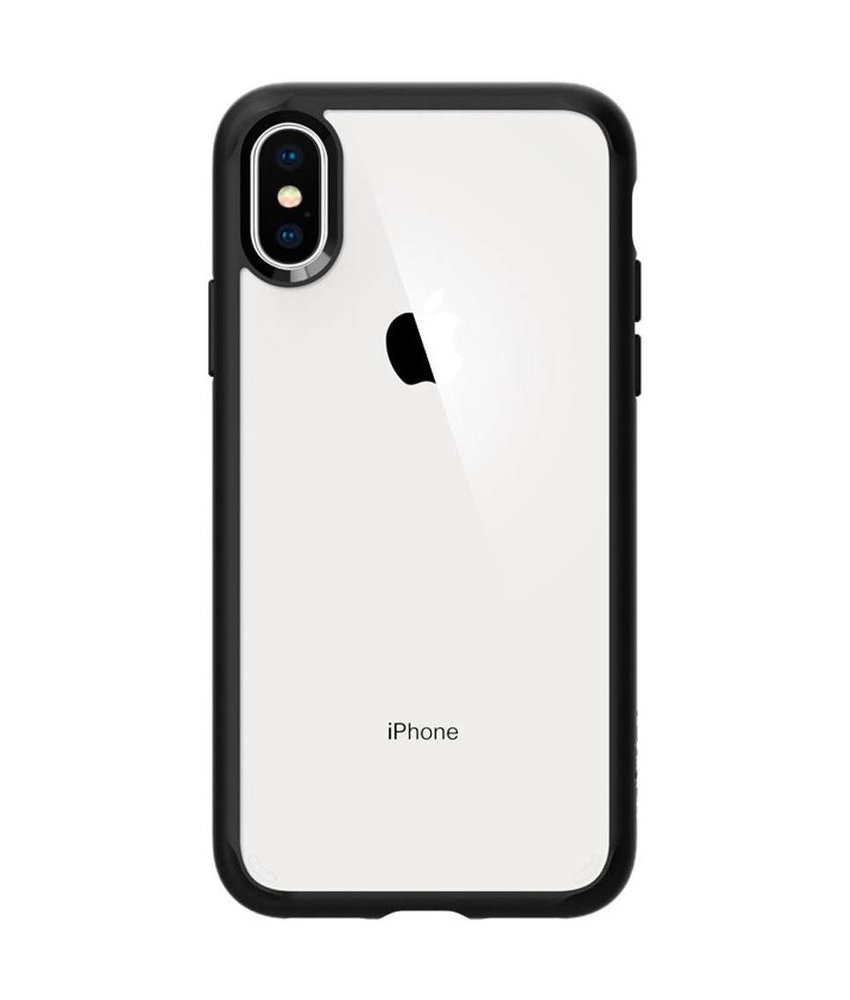 Spigen Zwart Ultra Hybrid Case iPhone Xs / X