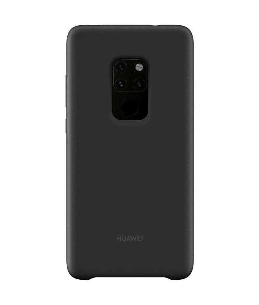 Huawei Zwart Silicone Car Case Mate 20