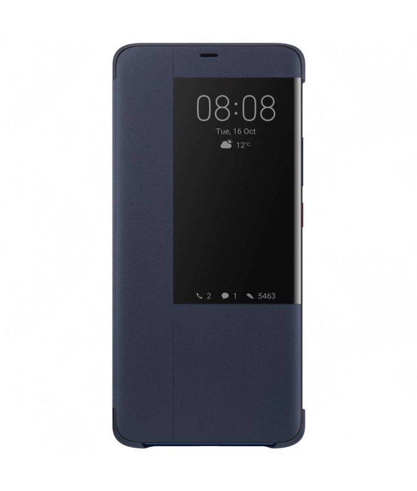 Huawei Blauw Smart View Flip Cover Mate 20 Pro