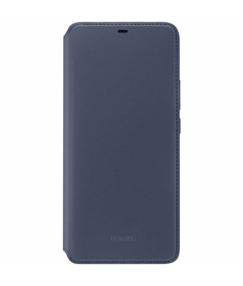 Huawei Blauw Wallet Cover Mate 20 Pro