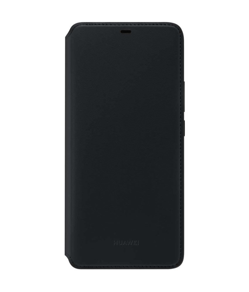 Huawei Zwart Wallet Cover Mate 20 Pro
