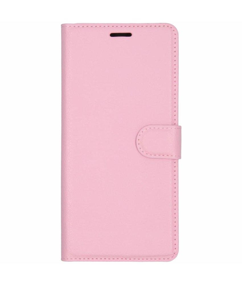 Basic Litchi Booktype Samsung Galaxy J6 Plus