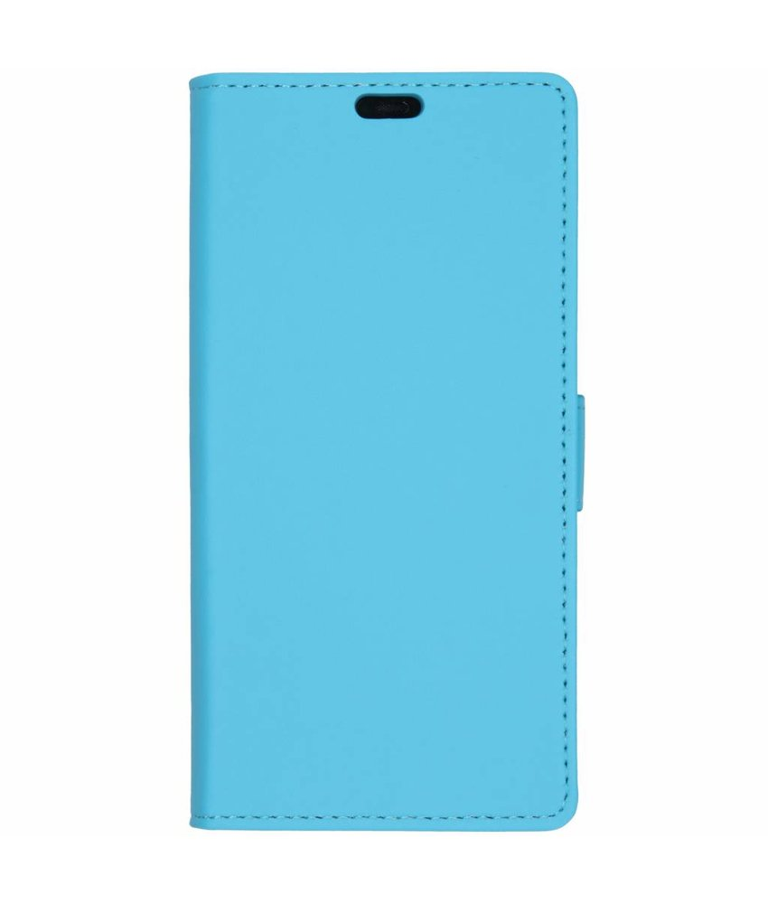 Blauw Luxe booktype hoes Huawei Mate 20 Pro