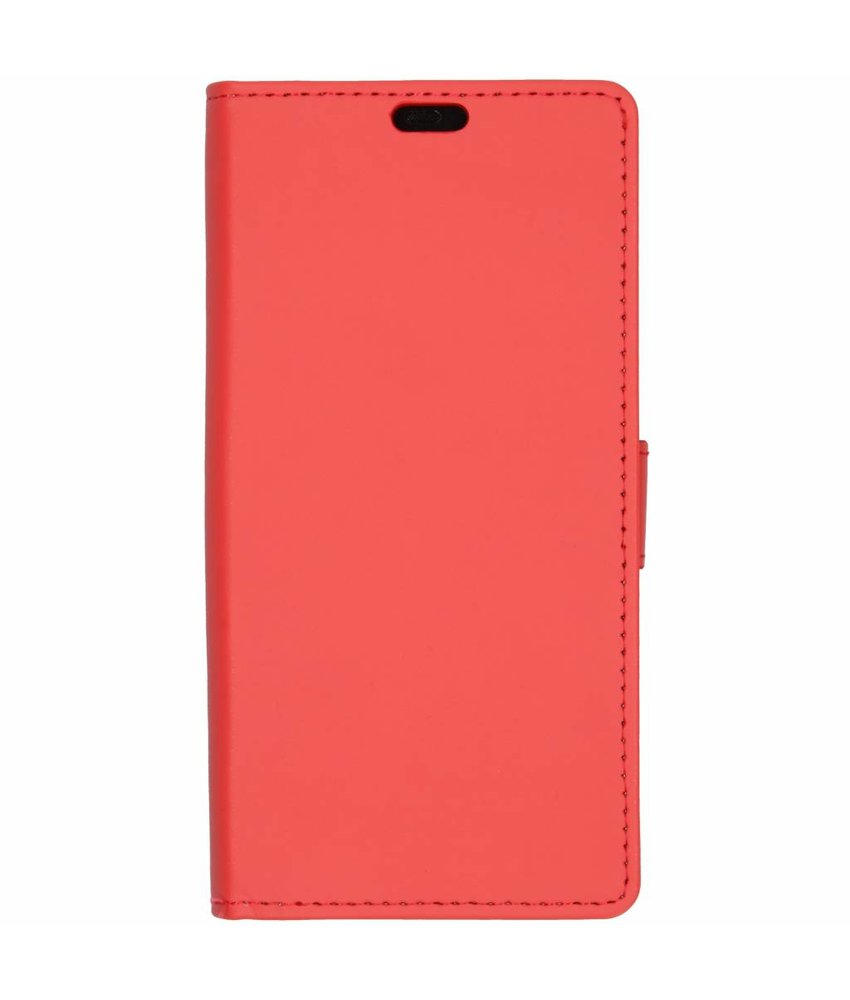Rood Luxe booktype hoes Huawei Mate 20 Pro