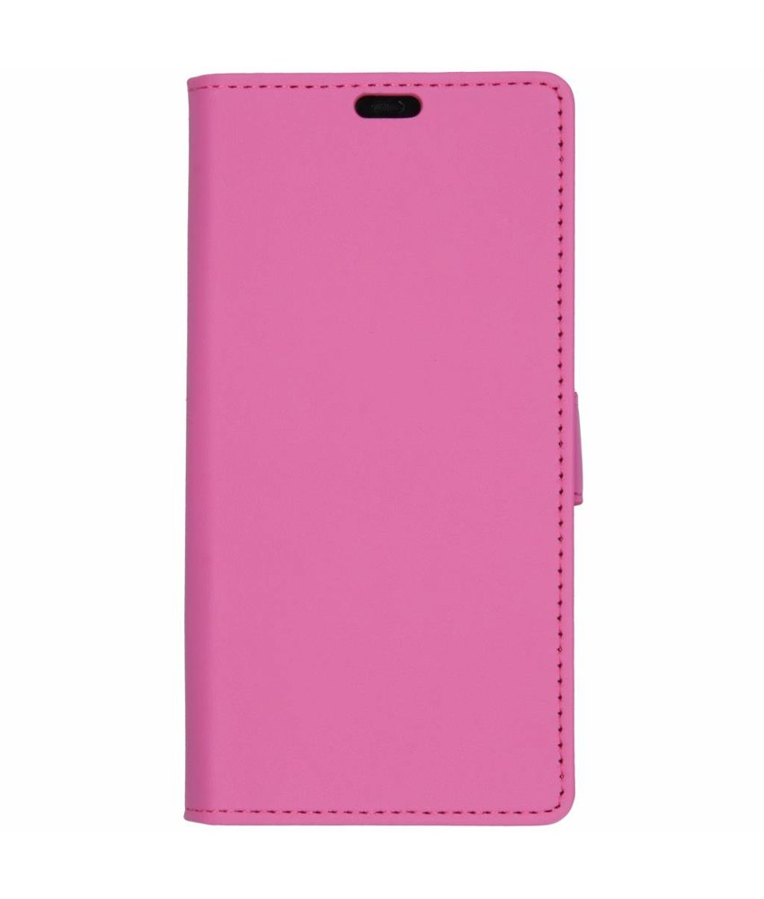 Roze Luxe booktype hoes Huawei Mate 20 Pro