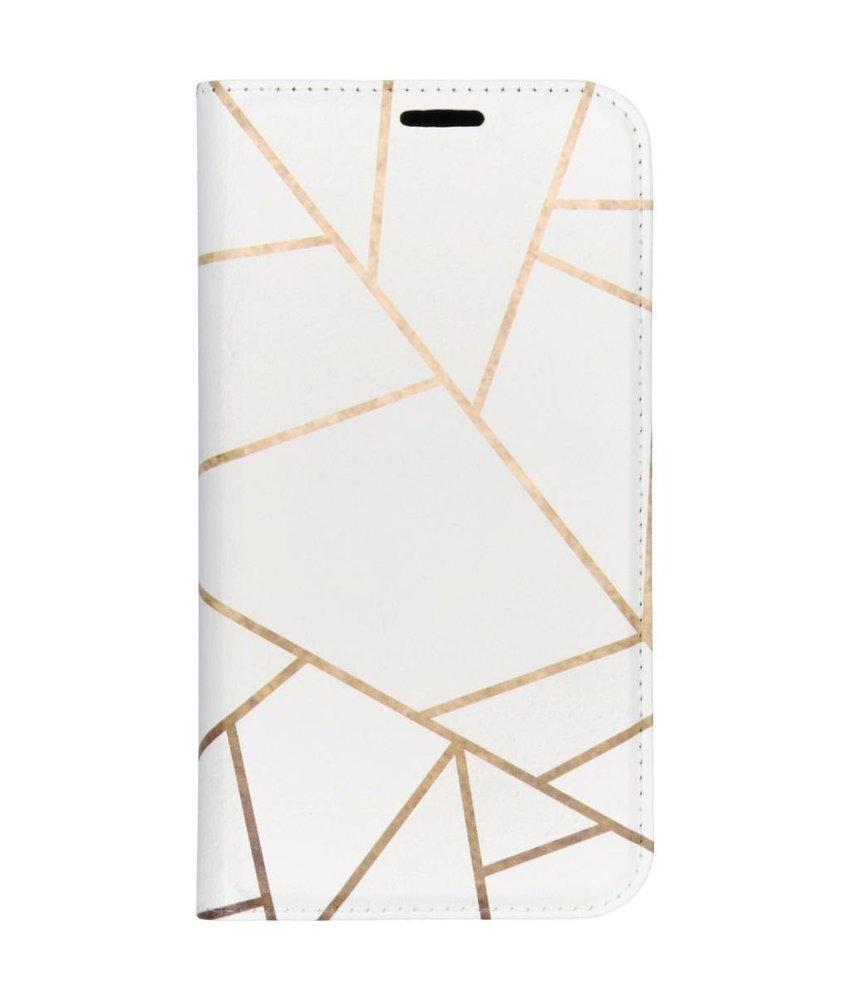 Design TPU Bookcase iPhone Xr