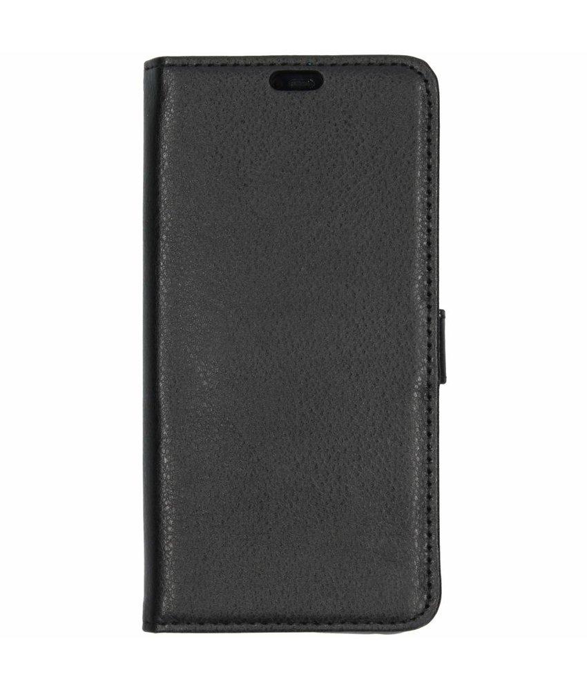 Zwart TPU Bookcase Huawei Mate 20 Pro