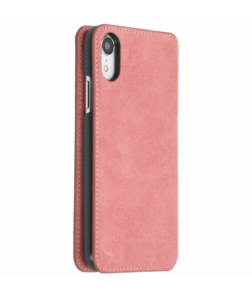 Krusell Roze Broby Slim Wallet iPhone Xr