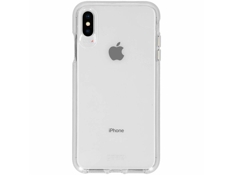 huge discount f36e5 8e860 Gear4 Crystal Palace Backcover voor iPhone Xs Max - Transparant