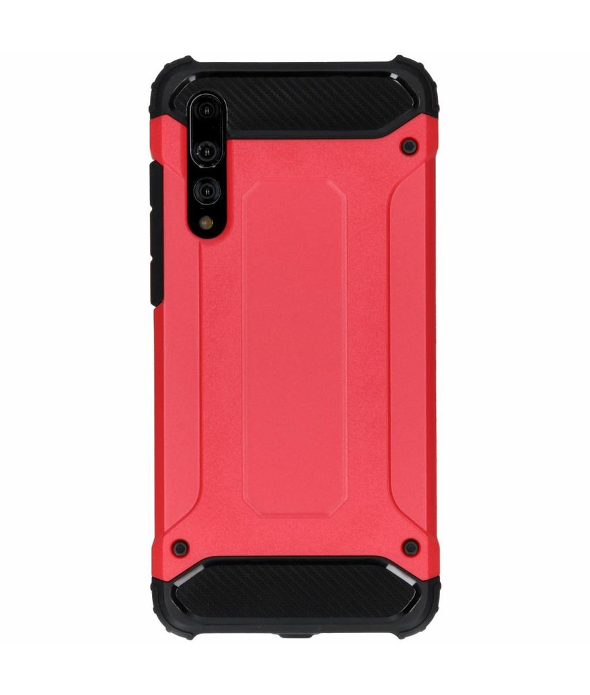 Rood Rugged Xtreme Case Huawei P20 Pro