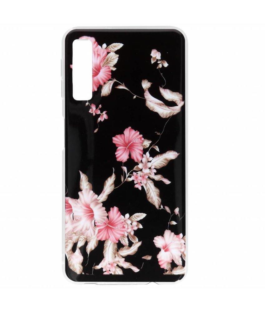 Design siliconen hoesje Samsung Galaxy A7 (2018)