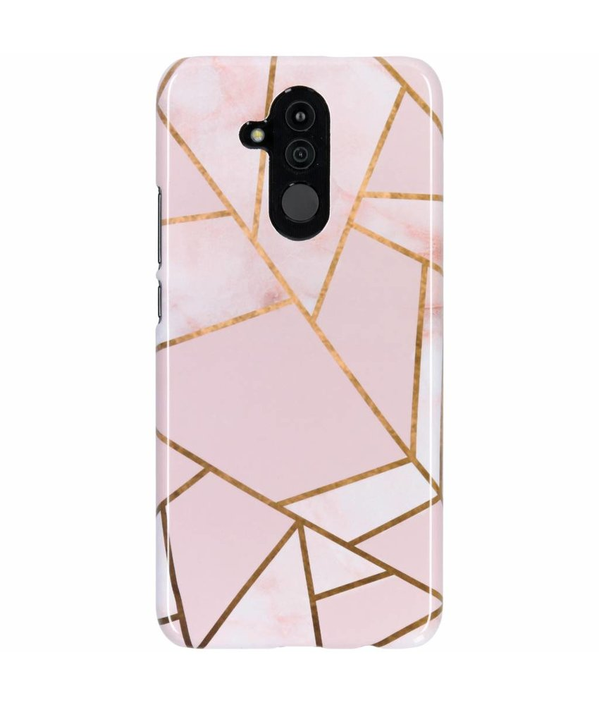 Selencia Pink Graphic Passion Hard Case Huawei Mate 20 Lite