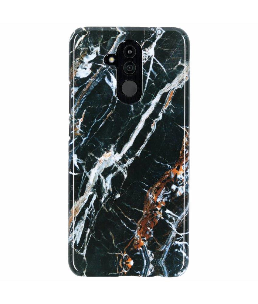 Selencia Black Marble Passion Hard Case Huawei Mate 20 Lite