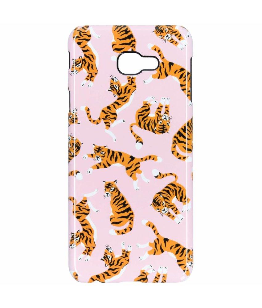 Selencia Tiger Passion Hard Case Samsung Galaxy J4 Plus