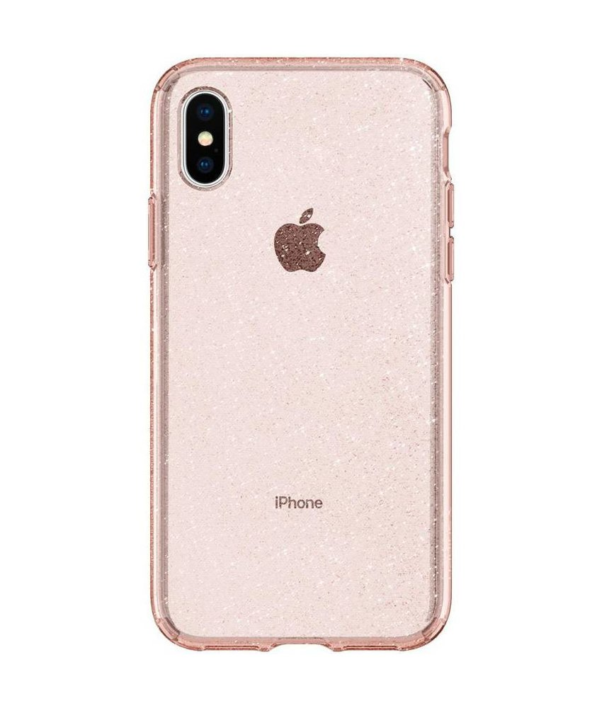 Spigen Liquid Crystal Glitter Backcover iPhone X / Xs