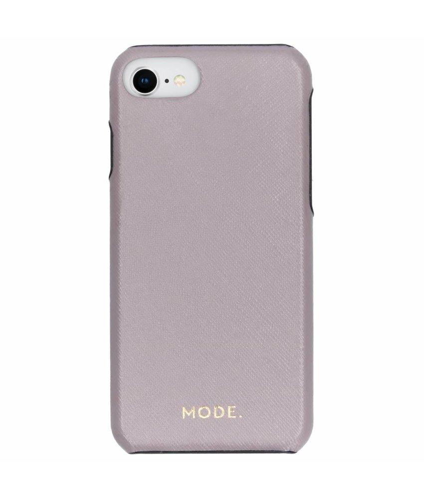 dbramante1928 Grijs London Leather Snap-On Case iPhone 8 / 7 / 6 / 6s