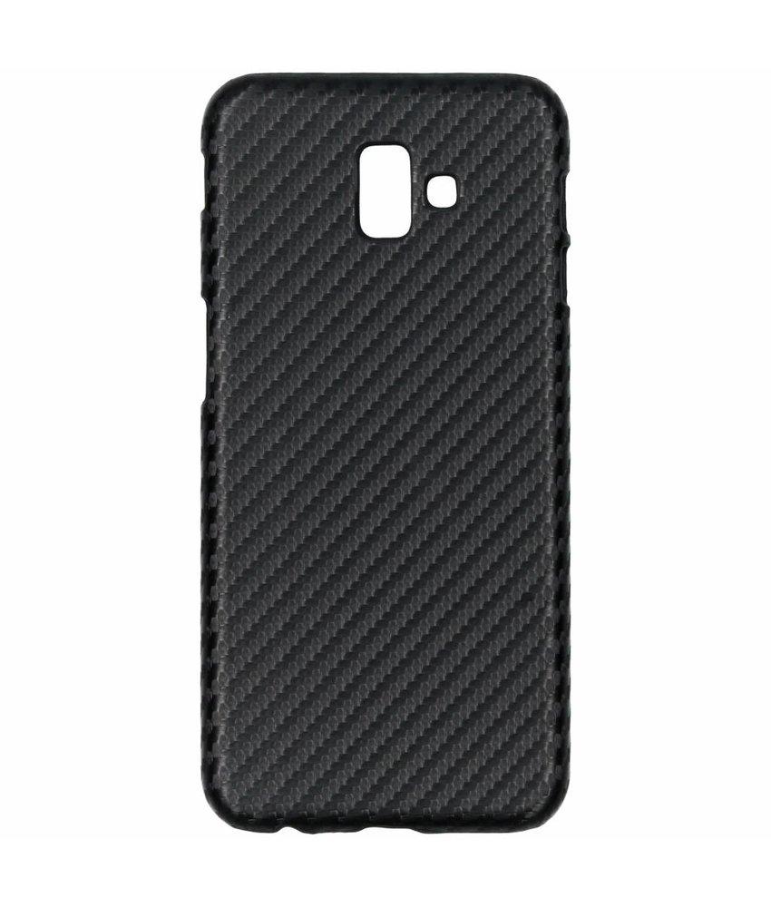 Carbon Hardcase Backcover Samsung Galaxy J6 Plus
