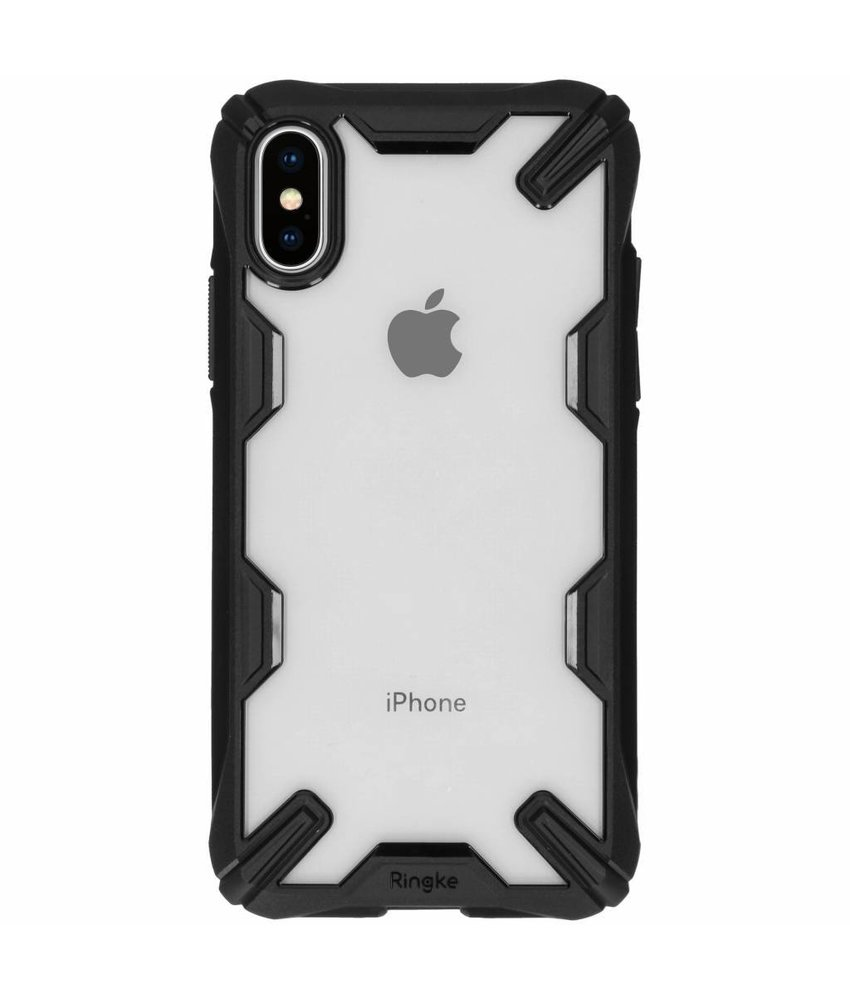 Ringke Zwart Fusion X Case iPhone Xs / X