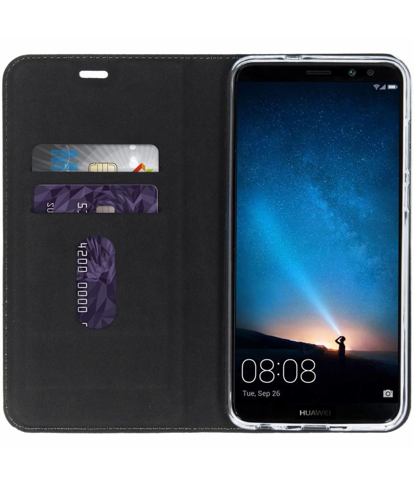 Design Softcase Booktype Huawei Mate 10 Lite