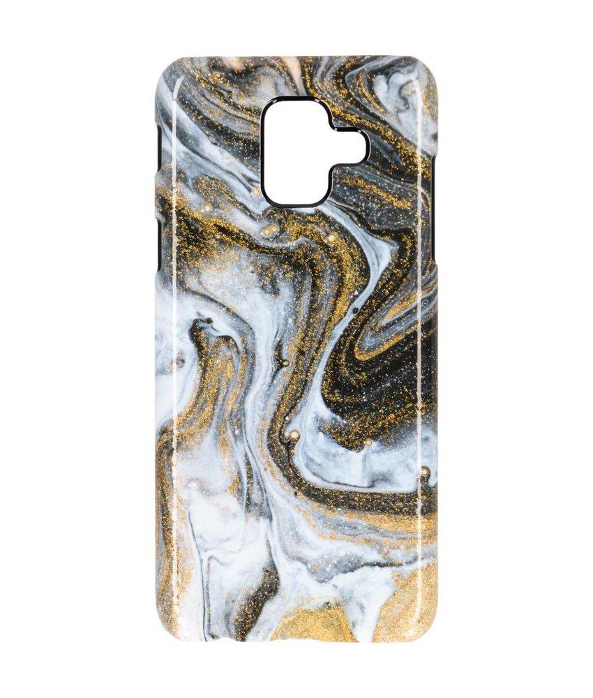 Selencia Black Lava Passion Hard Case Samsung Galaxy A6 (2018)