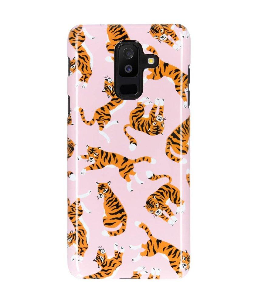 Selencia Tiger Passion Hard Case Galaxy A6 Plus (2018)