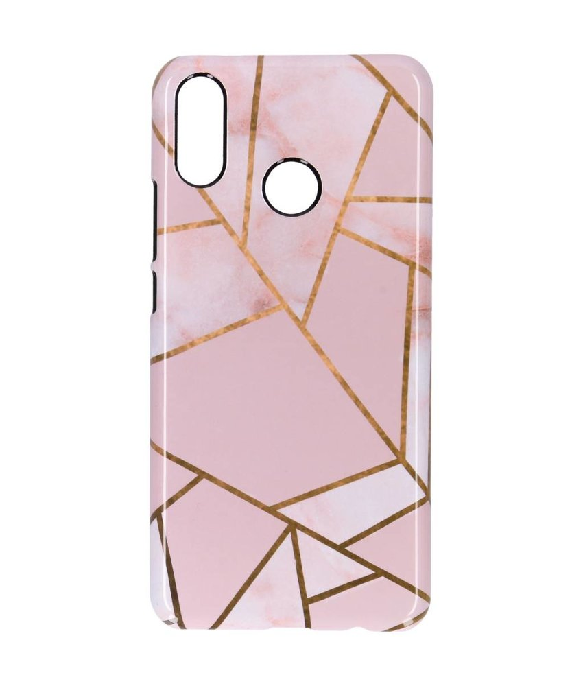 Selencia Pink Graphic Passion Hard Case Huawei P Smart Plus