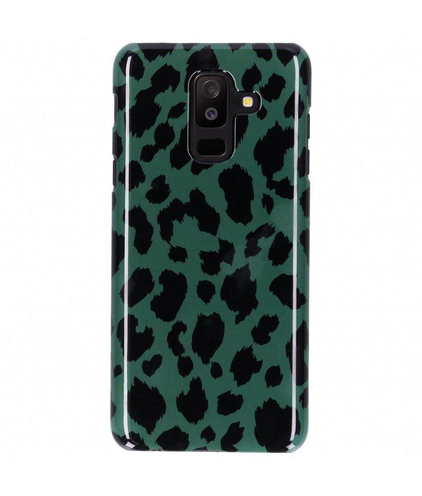 Selencia Panter Passion Hard Case Samsung Galaxy A6 Plus (2018)