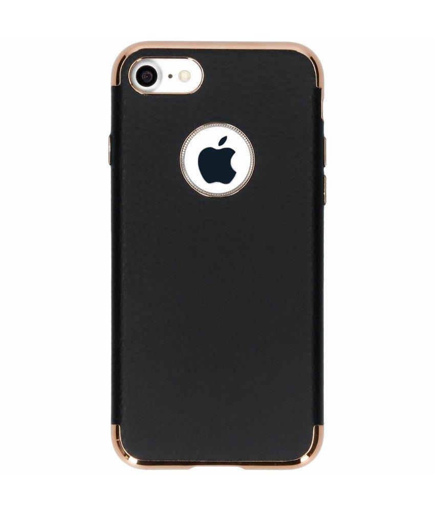 Luxe Lederen Backcover iPhone 8 / 7