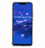 Botanic design siliconen hoesje voor de Huawei Mate 20 Lite