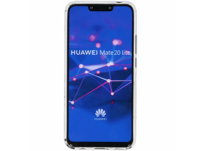 Huawei Mate 20 Lite hoesje - Oh Crab design siliconen