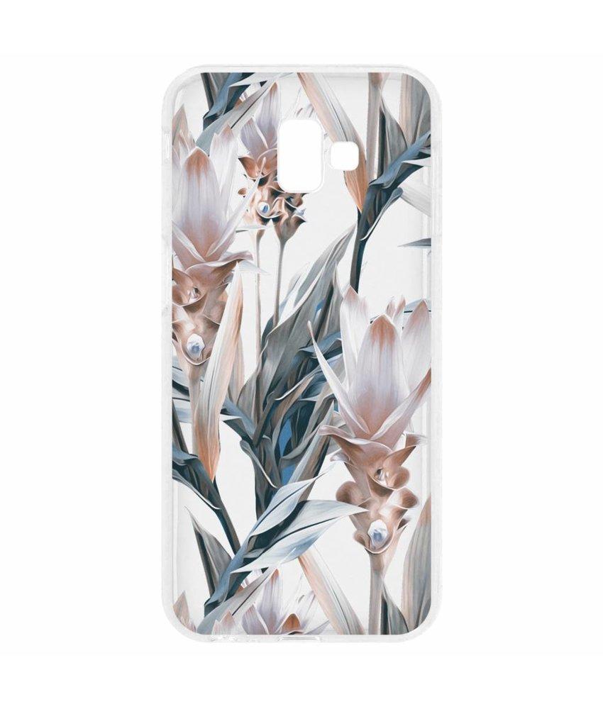 Delicate design siliconen hoesje Samsung Galaxy J6 Plus
