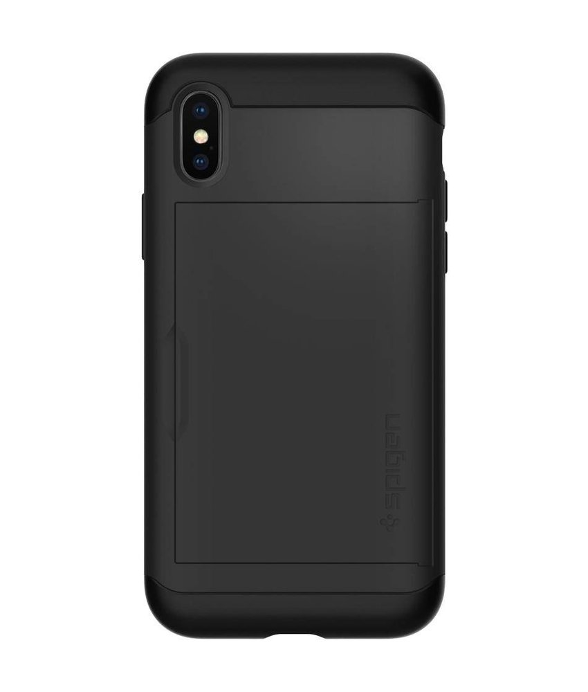 Spigen Slim Armor CS Backcover iPhone X / Xs
