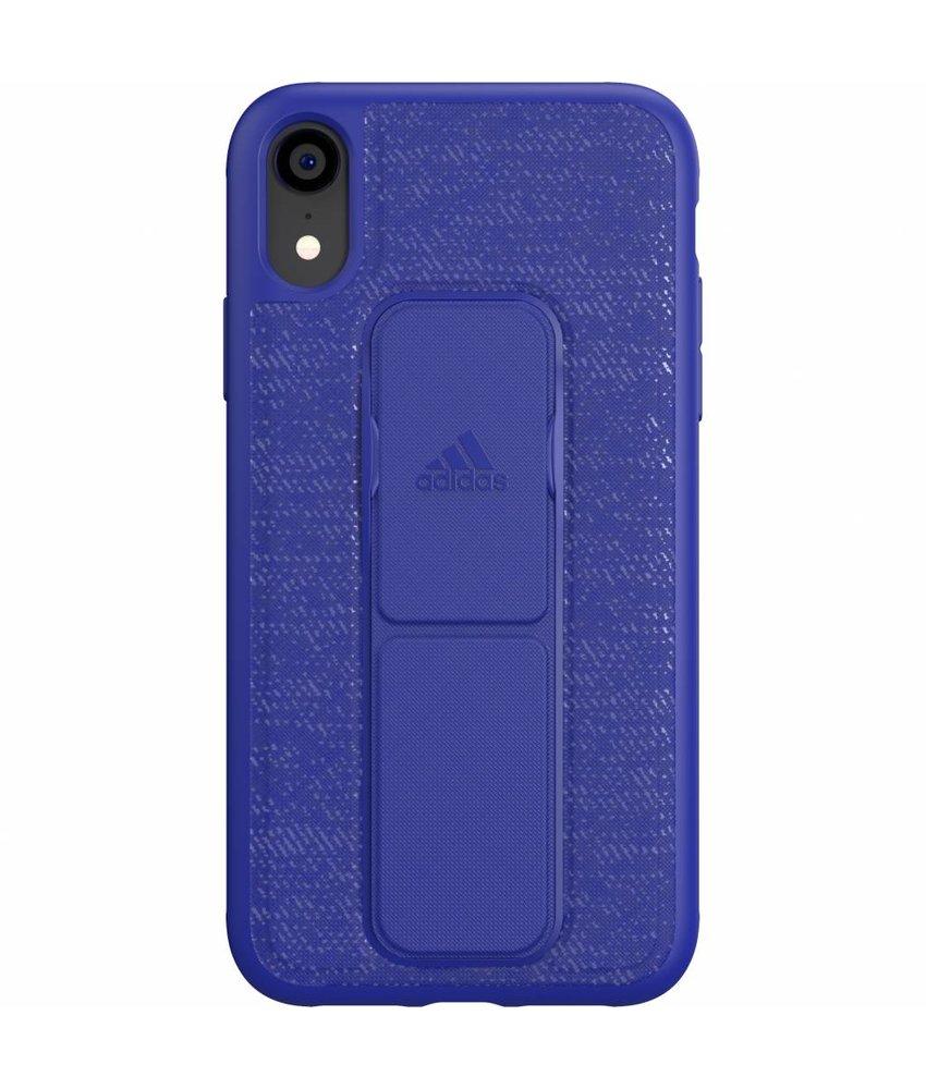 adidas Sports Blauw Grip Case iPhone Xr