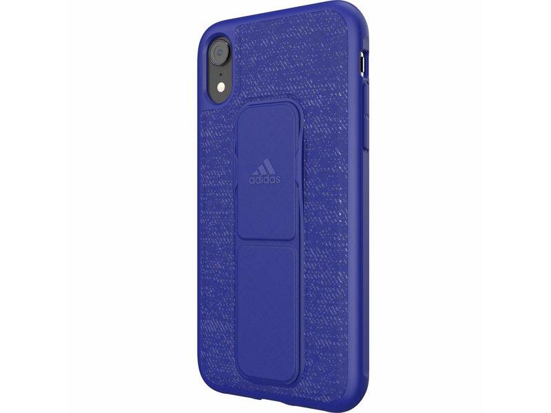 iPhone Xr hoesje - adidas Sports Blauwe Grip