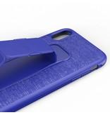 adidas Sports Blauwe Grip Case voor de iPhone Xr