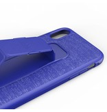 adidas Sports Grip Backcover voor iPhone Xr - Blauw