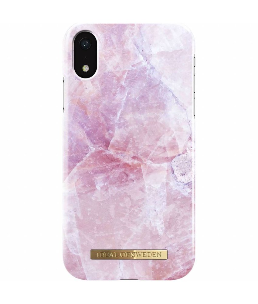 iDeal of Sweden Pilion Pink Marble Fashion Back Case iPhone Xr
