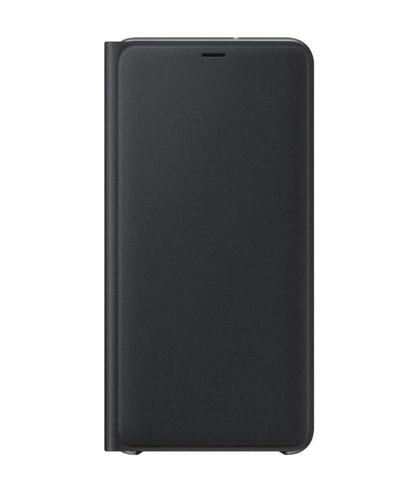 Samsung Zwart Wallet Cover Galaxy A7 (2018)