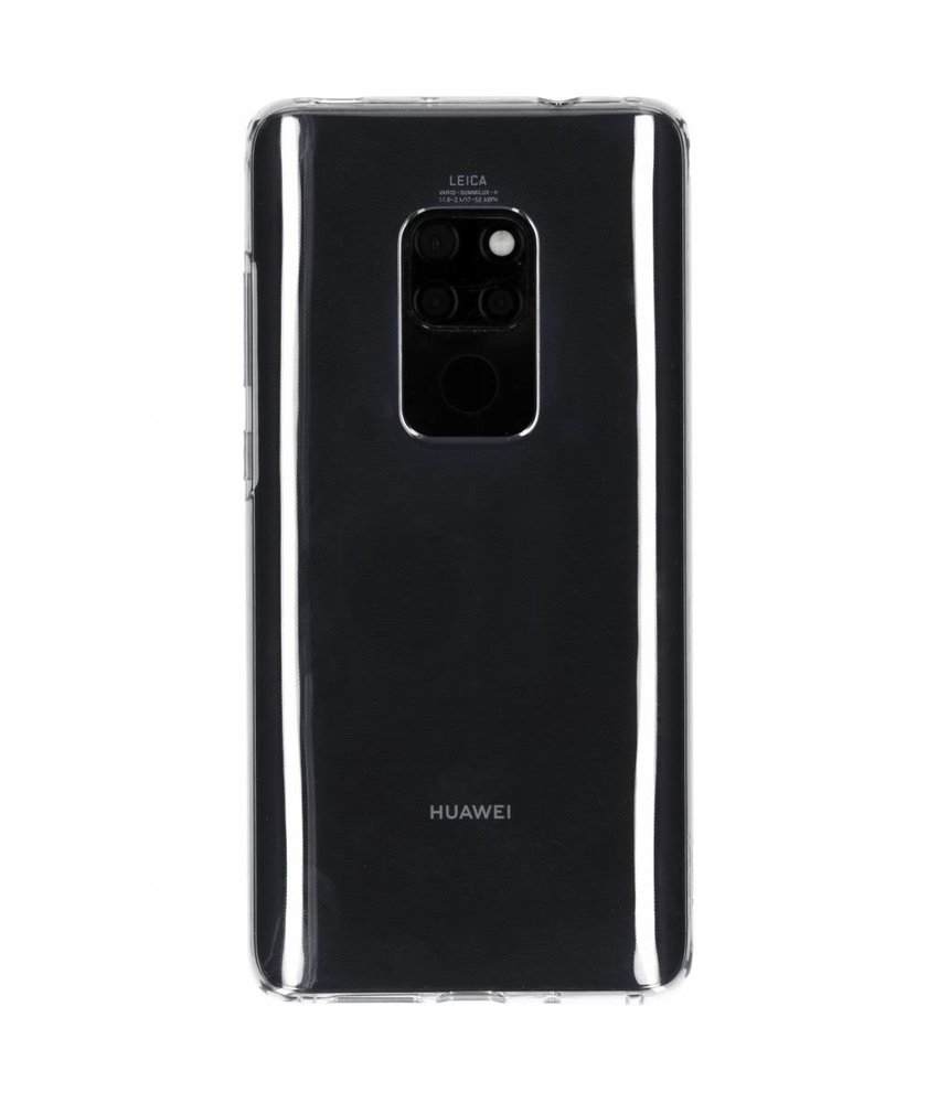 Huawei Transparant Flexible Clear Case Mate 20