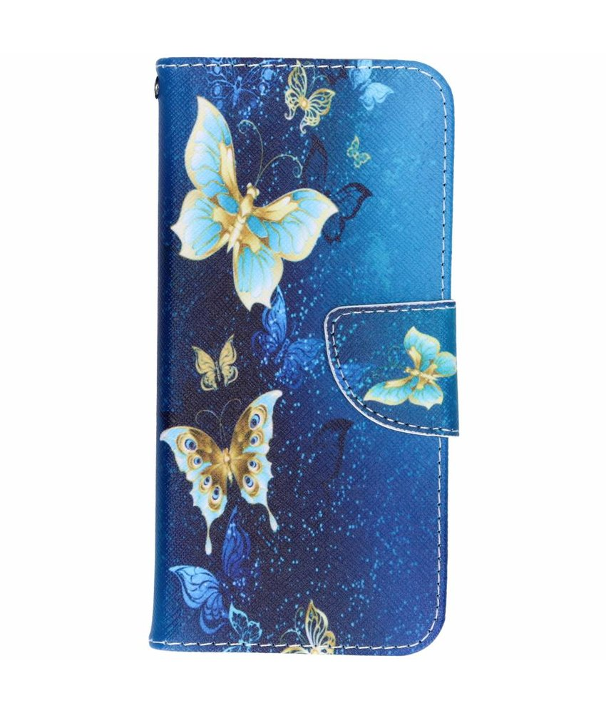 Design TPU booktype hoes Samsung Galaxy S8