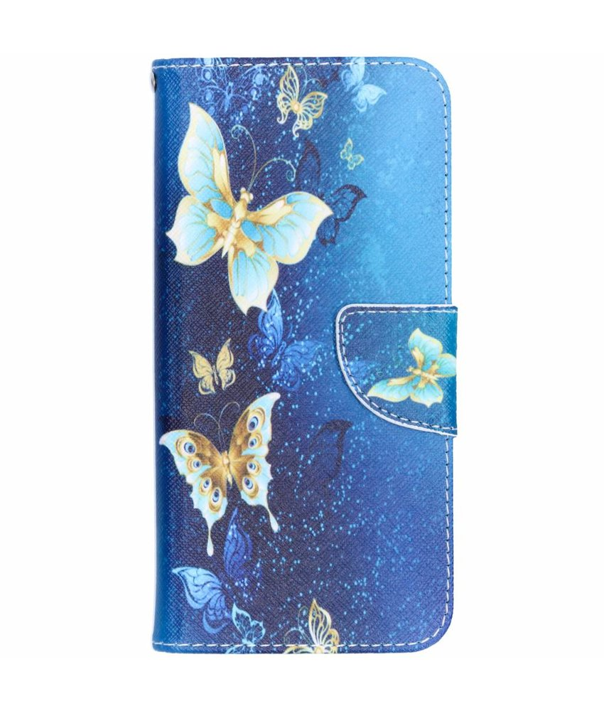 Design Softcase Booktype Huawei Mate 20 Lite