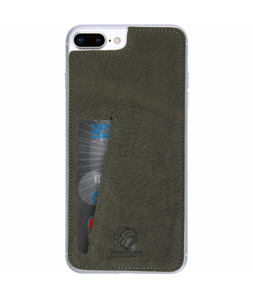 iMoshion Groen Skin Case iPhone 8 Plus / 7 Plus