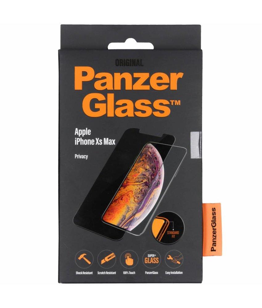 PanzerGlass Privacy Screenprotector iPhone Xs Max