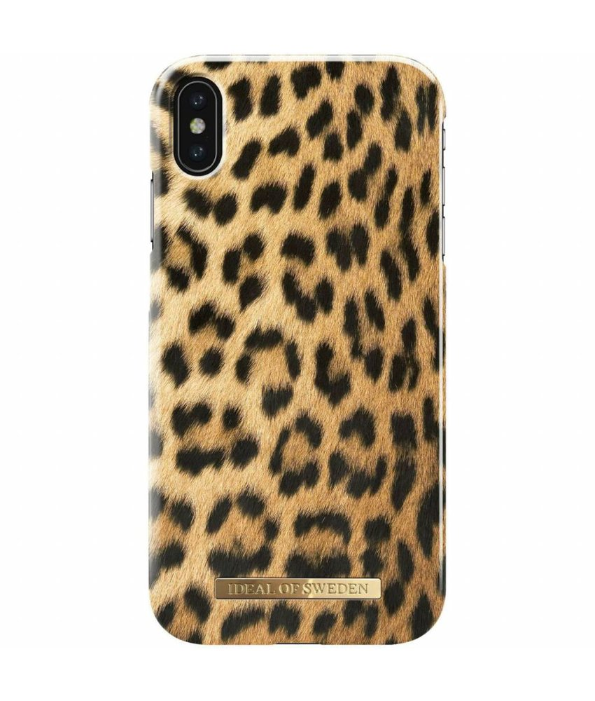 iDeal of Sweden Wild Leopard Fashion Back Case iPhone Xs Max